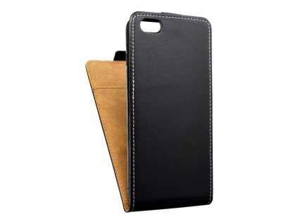 Forcell pouzdro Slim Flip Flexi FRESH pro Apple iPhone 6 Plus - černé