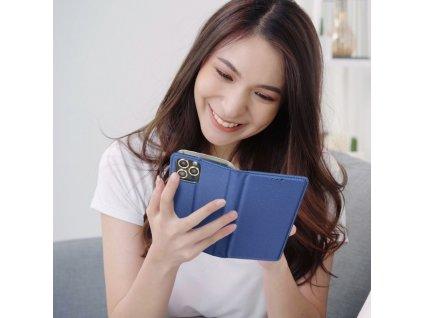 Pouzdro Smart Case Book Samsung J320 Galaxy J3 (2016) - granátové