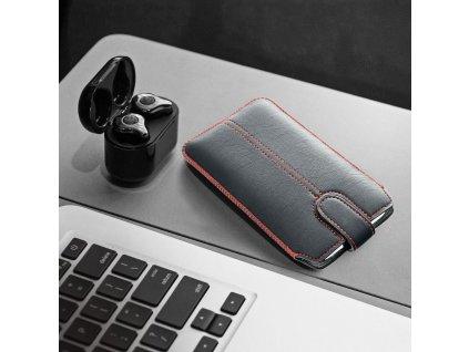 Pouzdro CHIC ULTRA SLIM - M4 - Samsung i9300 Galaxy S3/i9500 G. S4/Nokia 625 černé