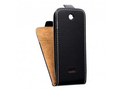 Forcell pouzdro Slim Flip Flexi FRESH pro Nokia 225 - černé