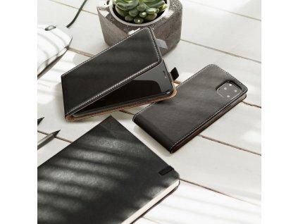 Forcell pouzdro Slim Flip Flexi FRESH pro Samsung G530 Galaxy Grand Prime - černé