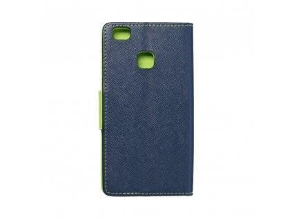 Fancy pouzdro Book HUAWEI P9 Lite- modré/limetkové