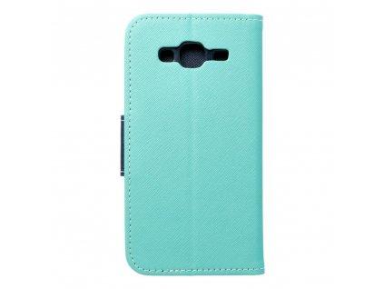 Fancy pouzdro Book - Samsung J320 Galaxy J3 (2016) - modro/mátové