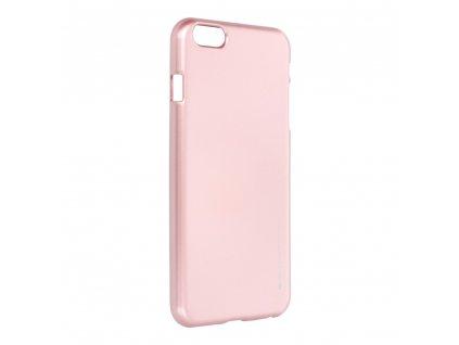 Pouzdro i-Jelly MERCURY/GOOSPERY pro Apple iPhone 6/6S Plus - zlato-růžové