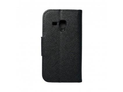 Fancy pouzdro Book pro Samsung S7560 Galaxy Trend/S7580 Trend Plus/S7562 Galaxy S Duos - černé