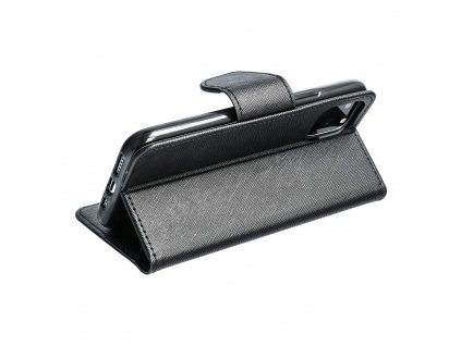 Fancy pouzdro Book - Samsung G388F Galaxy Xcover 3 - černé