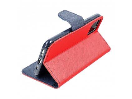Fancy pouzdro Book - Nokia 230 - modro/červené
