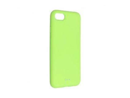 Pouzdro Roar Colorful Jelly Case Apple iPhone 7 Limonka
