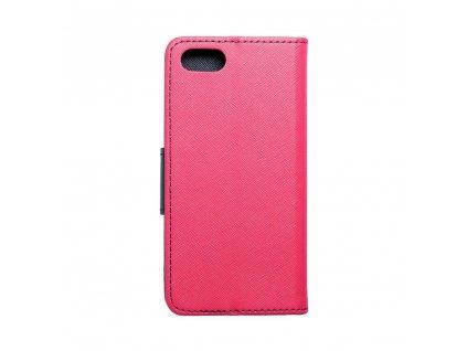 Fancy pouzdro Book Apple iPhone 7 - modro/růžové