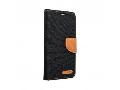 Pouzdro Canvas Mercury Book pro Huawei P8 Lite - černé