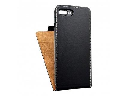Forcell pouzdro Slim Flip Flexi FRESH pro Apple iPhone 7 Plus černé