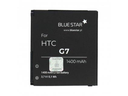 Baterie Blue Star HTC (G7) Desire / 1400mAh Li-Ion (náhrada za BA-S410)