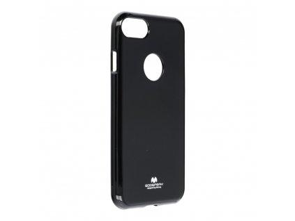 Pouzdro Goospery Mercury Jelly pro Apple Iphone 7 černé s výřezem na logo