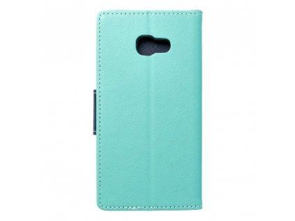 Fancy pouzdro Book - Samsung Galaxy A5 2017 mátové/granátové