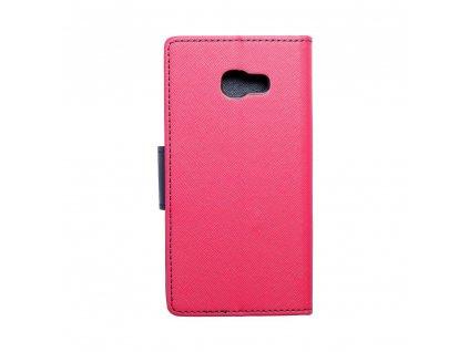 Fancy pouzdro Book - Samsung Galaxy A5 2017 - modro/růžové