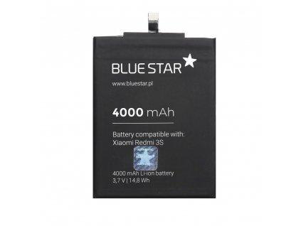 Baterie Blue Star XIAOMI Redmi 3S - 4000mAh Li-Ion (BS-BM47)