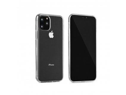 Pouzdro Back Case Ultra Slim 0,3mm pro Apple iPhone 5/5S - čirá