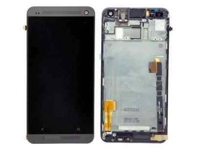 LCD displej HTC One M7 Dotyková plocha - černá