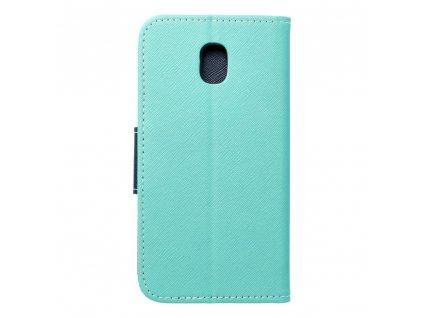 Fancy pouzdro Book - Samsung Galaxy J3 2017 mátové/granátové