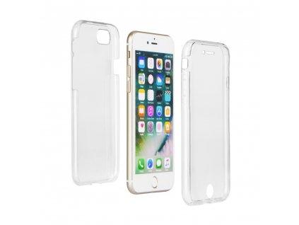 Silikonové pouzdro 360 Full Body Soft Case pro Samsung G955 Galaxy S8+ - transparentní