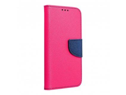 Fancy pouzdro Book - Samsung G955 Galaxy S8+ - modro/růžové
