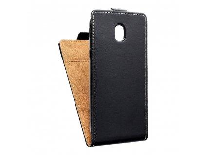 Forcell pouzdro Slim Flip Flexi FRESH pro Samsung Galaxy J5 2017 černé