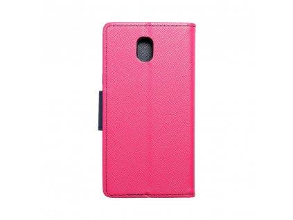 Fancy pouzdro Book - Samsung Galaxy J5 2017 - modro/růžové