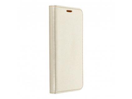 Pouzdro Magnet Flip Wallet Book pro Apple Iphone 7 zlaté
