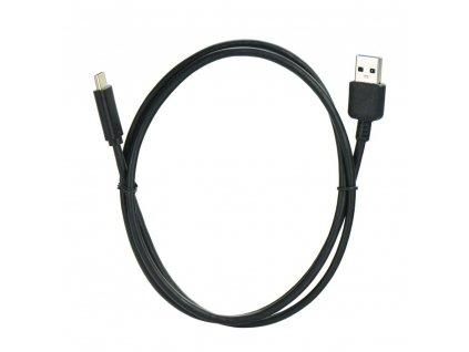 Kabel USB - Micro USB-C (TYP C) 3.1 / USB 3.0 černý