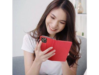 Pouzdro Smart Case Book Apple iPhone 6 - červené