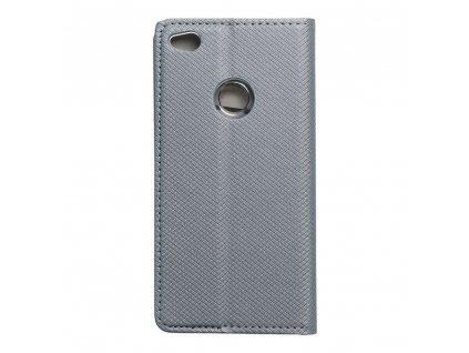 Pouzdro Smart Case Book Huawei P8 Lite (2017) metalické