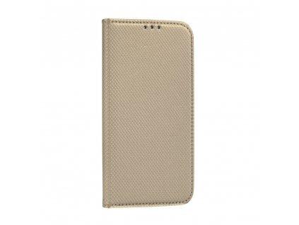 Pouzdro Smart Case Book LG K10 (2017) zlaté
