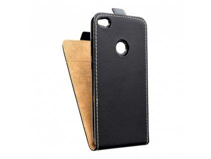 Forcell pouzdro Slim Flip Flexi FRESH pro Huawei P8 Lite (2017) černé