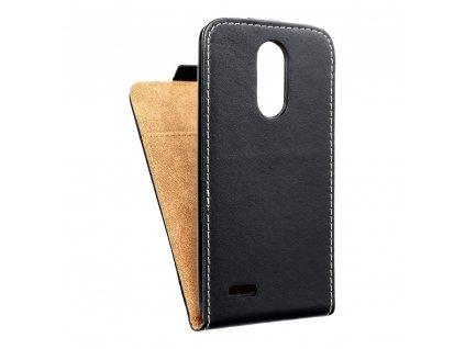 Forcell pouzdro Slim Flip Flexi FRESH pro LG K8 (2017) černé