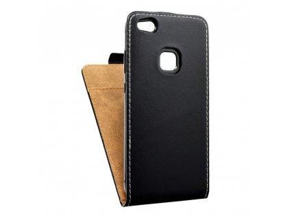 Forcell pouzdro Slim Flip Flexi FRESH pro Huawei P10 Lite černé