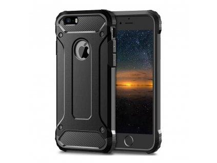Obrněné pouzdro Forcell ARMOR Apple Iphone 5/5S/SE černé