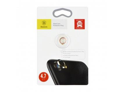 Kroužek zadní kamery iPhone 7 - zlato/růžový