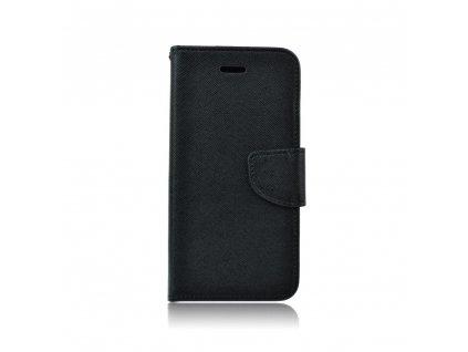 Fancy pouzdro Book - Huawei Y7 - černé