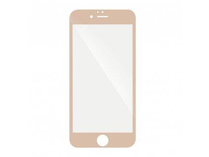 "Forcell Tvrzené sklo 5D Hybrid Full Glue Glass - Apple iPhone 6/6S 4,7"" - zlaté"