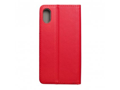 Forcell pouzdro Smart Case Book pro Apple iPhone X - červené