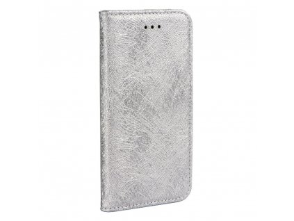 Forcell pouzdro MAGIC Book - Samsung G390F Galaxy Xcover 4 - stříbrné