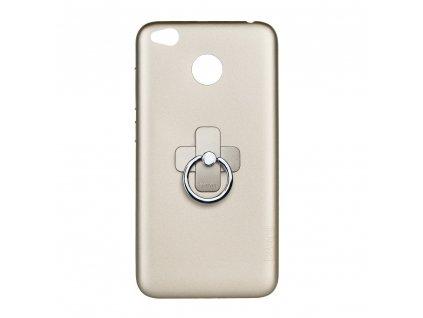 Pouzdro X-LEVEL Jelly 2 pro Xiaomi Redmi 4X - zlaté