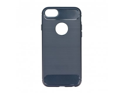 Pouzdro Forcell Carbon back cover pro Apple iPhone 6/6S - modré