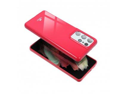 Pouzdro Goospery Mercury Jelly pro Apple iPhone 8 - růžové