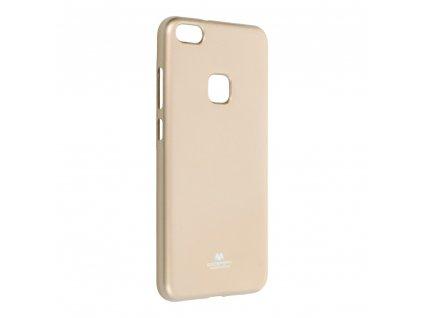 Pouzdro Goospery Mercury Jelly pro Huawei P10 Lite - zlaté