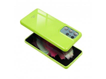 Pouzdro Goospery Mercury Jelly pro Samsung G955 Galaxy S8 Plus - limetkové