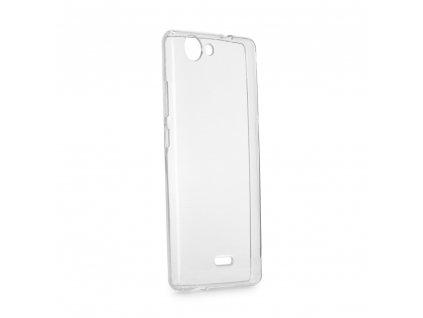 Forcell pouzdro Back Ultra Slim 0,5mm pro Wiko Lenny 4 - transparentní