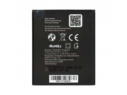 Baterie BLue Star 1400 mAh Li-Ion pro Samsung I8160 Galaxy Ace 2/S7562 S Duos/S7560 Galaxy Trend