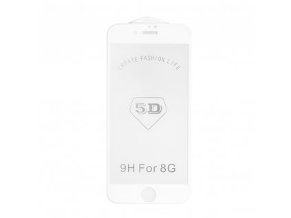 "Forcell Tvrzené sklo 5D Full Glue pro Apple iPhone 7/8 4.7"" Forest - bílé"