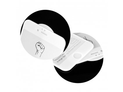 "Tvrzené sklo 3D Roar Glass Apple Iphone 7 / 8 4,7"" bílé"